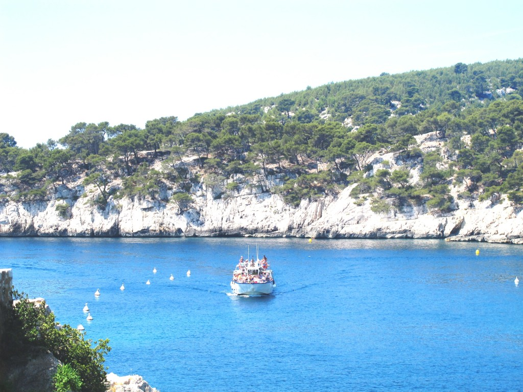 Port Miou bateau