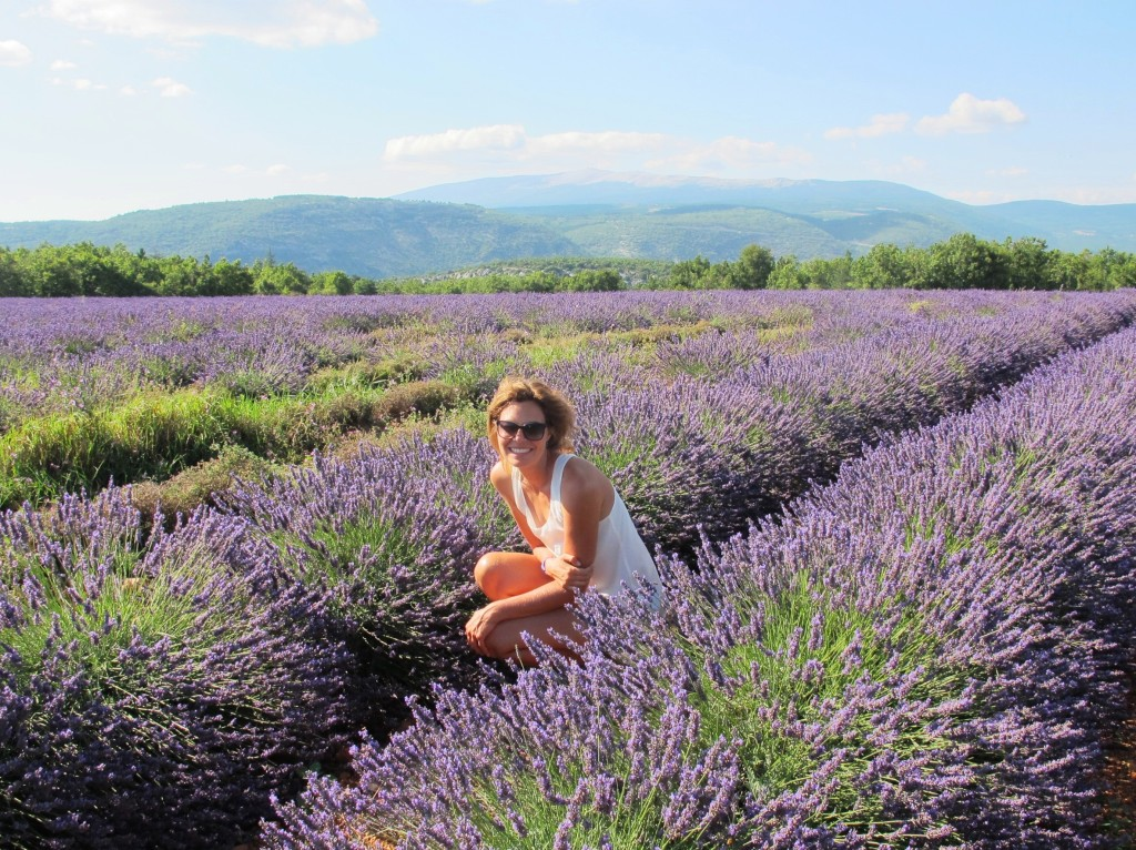 Lavender fields and me