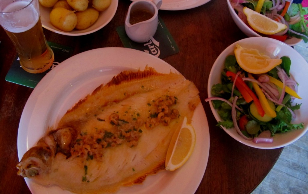 Lemon sole yum yum